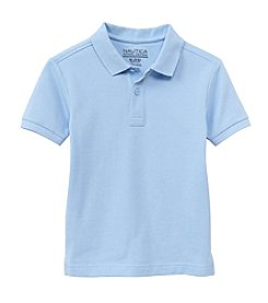 Nautica® Boys' 4-7 Short Sleeve Pique Polo