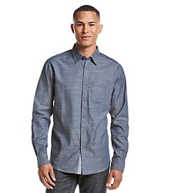 Ocean Current® Men's Graphic Long Sleeve Button Down Shirt