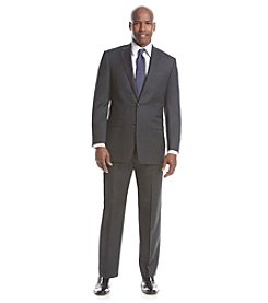 Lauren Ralph Lauren Men's Stretch Solid Charcoal Suit Separates