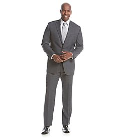 Lauren Ralph Lauren Men's Stretch Gray Sharkskin Suit Separates