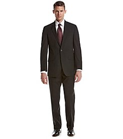 REACTION Kenneth Cole Men's Black Stripe Suit Separates