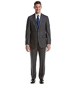 REACTION Kenneth Cole Men's Grey Solid Suit Separates