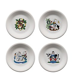 Fiesta® 12 Days of Christmas Set of 4 Days 5-8 Plates