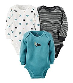 Carter's® Baby Boys 3-Pack Camping Side Snap Bodysuits