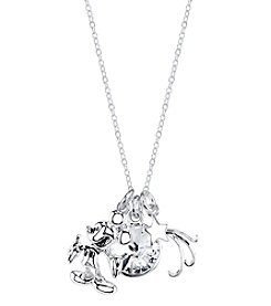 Disney® Mickey Mouse® Crystal Charm Necklace