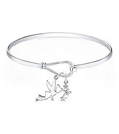 Disney® Tinkerbell® Crystal Charm Bangle Bracelet