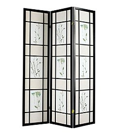 Acme Iola 3-Panel Wooden Screen