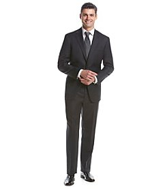 Hart Schaffner Marx® Men's Big & Tall Charcoal Solid 2-Button Suit