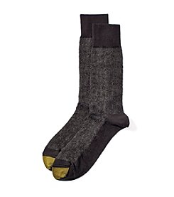 GOLD TOE® Men's Regal Brocade Dress Socks