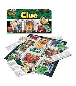 Winning Moves® Clue® Classic Edition Mystery Board Game