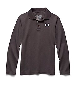 Under Armour® Boys' 8-20 Long Sleeve Golf Polo