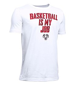 Under Armour® Boys' 8-20 Short Sleeve Basketball Is My Job Tee