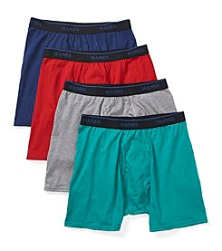Hanes® Men's 4-Pack ComfortBlend® Boxer Briefs