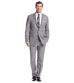 Kenneth Cole New York® Men's Slim Fit Gray Sharkskin Suit Separates