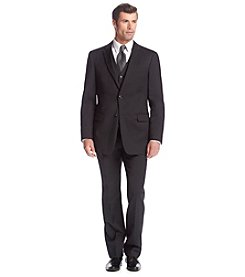 Tommy Hilfiger® Men's Black Solid Suit Separates