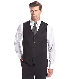 Tommy Hilfiger® Men's Black Solid Suit Separates Vest