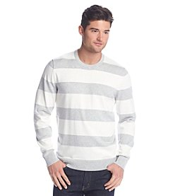 John Bartlett Consensus Men's Rugby Stripe Crew Neck Sweater