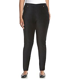 MICHAEL Michael Kors® Plus Size Straight Corduroy Leggings