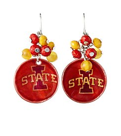 accessory PLAYS™ NCAA® Iowa State Cyclones Shell Cluster Earrings