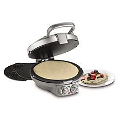 Cuisinart® International Chef Crepe, Pizzelle and Pancake Plus