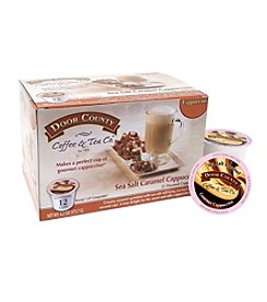 Door County Sea Salt Caramel Cappuccino 12-Pk Single Serve Cups