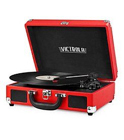 Victrola® 3-Speed Vintage Bluetooth® Suitcase Turntable