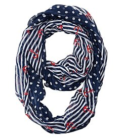 Cejon® Nantucket Nautical Infinity Scarf