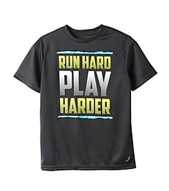 Exertek® Boys' 8-20 Short Sleeve Run Hard Tee