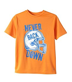 Exertek® Boys' 8-20 Short Sleeve Never Back Down Tee