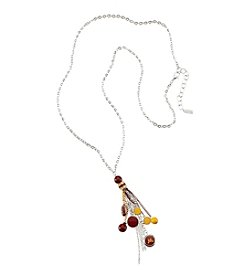 accessory PLAYS™ NCAA® Minnesota Golden Gophers Tassel And Football Necklace