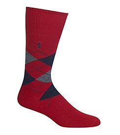 Polo Ralph Lauren® Men's Diamond Argyle Crew Socks