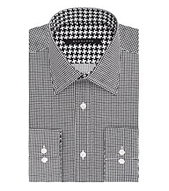 Sean John® Men's Houndstooth Long Sleeve Dress Shirt