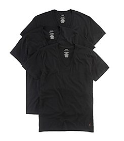 Polo Ralph Lauren® Men's 3-Pack Classic Cotton V-Neck T-Shirts