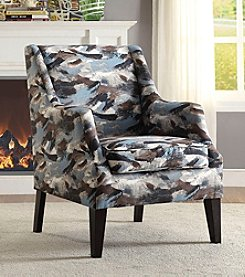 Acme Zarate Paintbrush Accent Chair