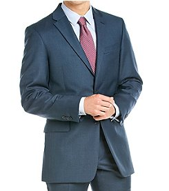 Tommy Hilfiger® Men's Navy Sharkskin Suit Separates Jacket