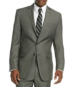 Calvin Klein Men's Charcoal Neat Suit Separates Jacket