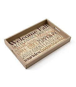 Living Quarters Harvest Sentiments Tray