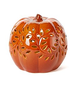 LivingQuarters Small LED Pumpkin