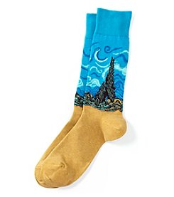 Hot Sox® Men's Wheat Field Dress Socks