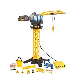 Discovery Kids® Motorized Toy Crane Tower Set