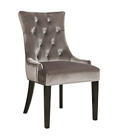 Pulaski Chrome Velvet Dining Chair