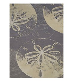 United Weavers Panama Jack Sand Dollar Cove Scatter Rug