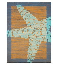 United Weavers Panama Jack Star Fish Border Scatter Rug