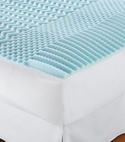 ComforPedic from Beautyrest® Five Zone Reversible Mattress Topper