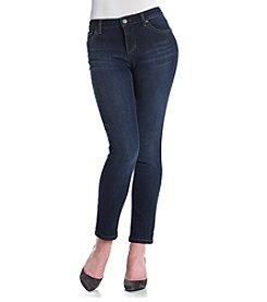 Ruff Hewn Petites' Firehouse Wash Skinny Jeans