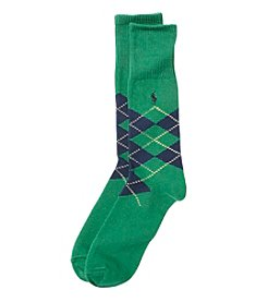 Polo Ralph Lauren® Men's Diamond Argyle Dress Socks