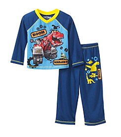 Komar Kids® Boys' 2T-4T 2-Piece Dinotrux Pajama Set