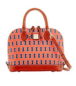 Dooney & Bourke® NCAA® Illinois Fighting Illini Zip Satchel