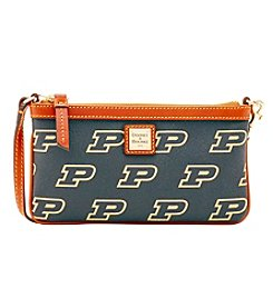 Dooney & Bourke® NCAA® Purdue University Large Slim Wristlet