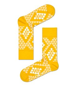 Happy Socks® Men's Snakeskin Dress Socks